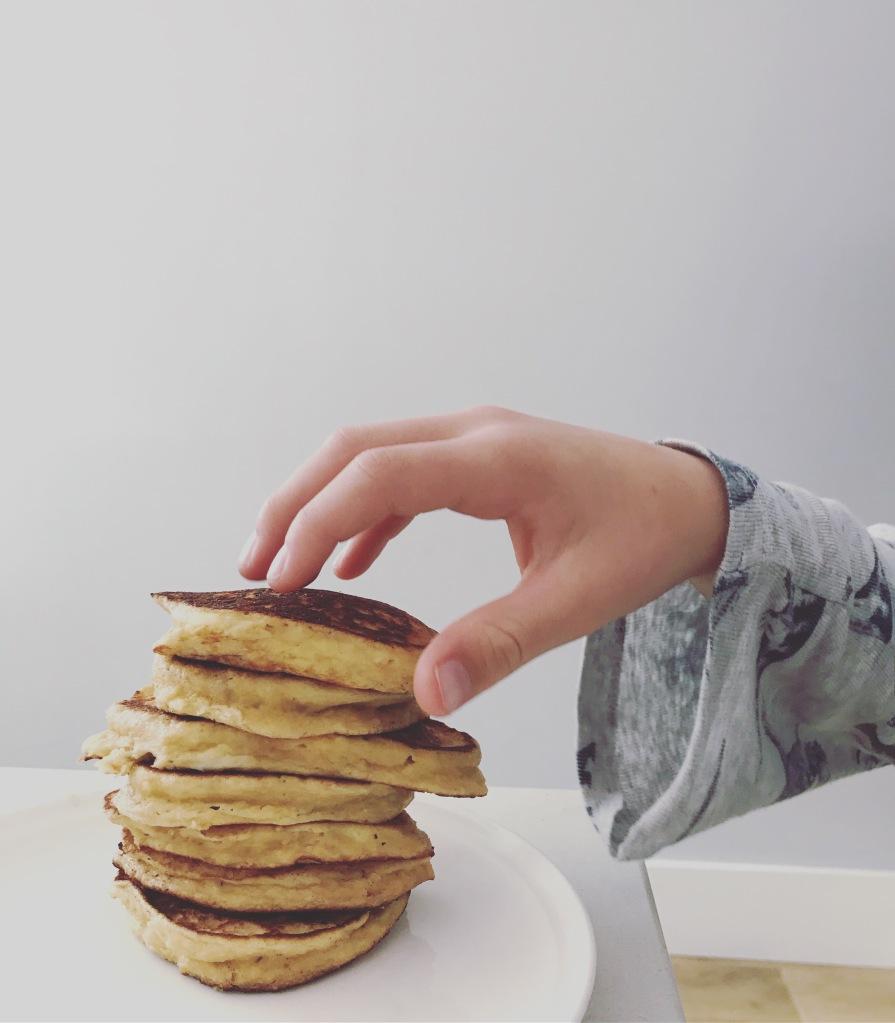 Ricotta pancakes, gluten-free pancakes, almond-meal pancakes, ricotta & almond meal pancakes